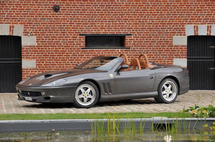 Ferrari 550 Barchetta châssis 124242