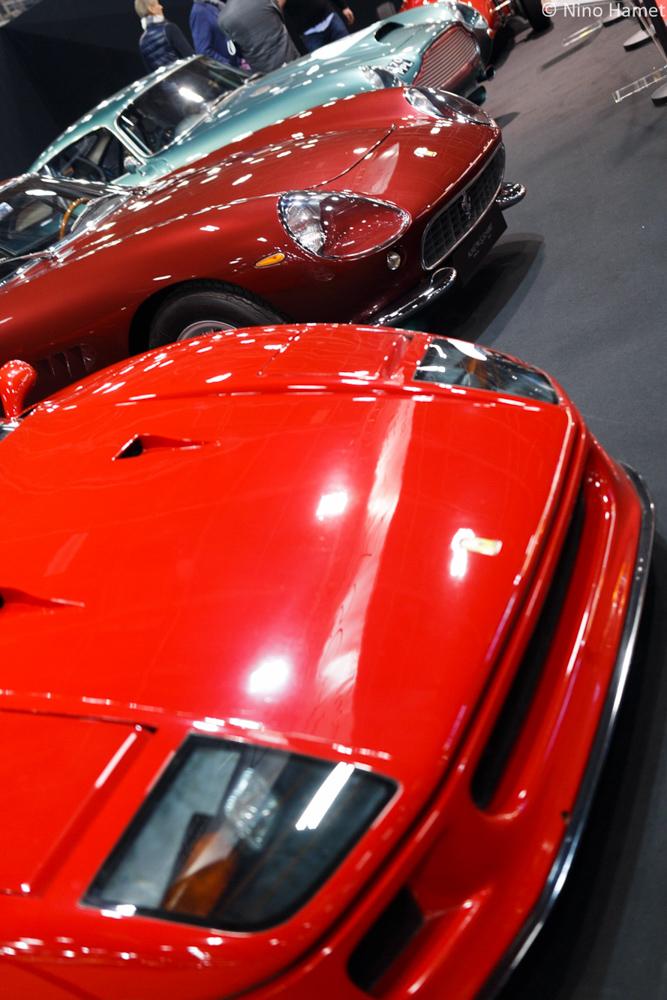 Ferrari F40 & Ferrari 275 GTB & Aston Martin DB4 GT