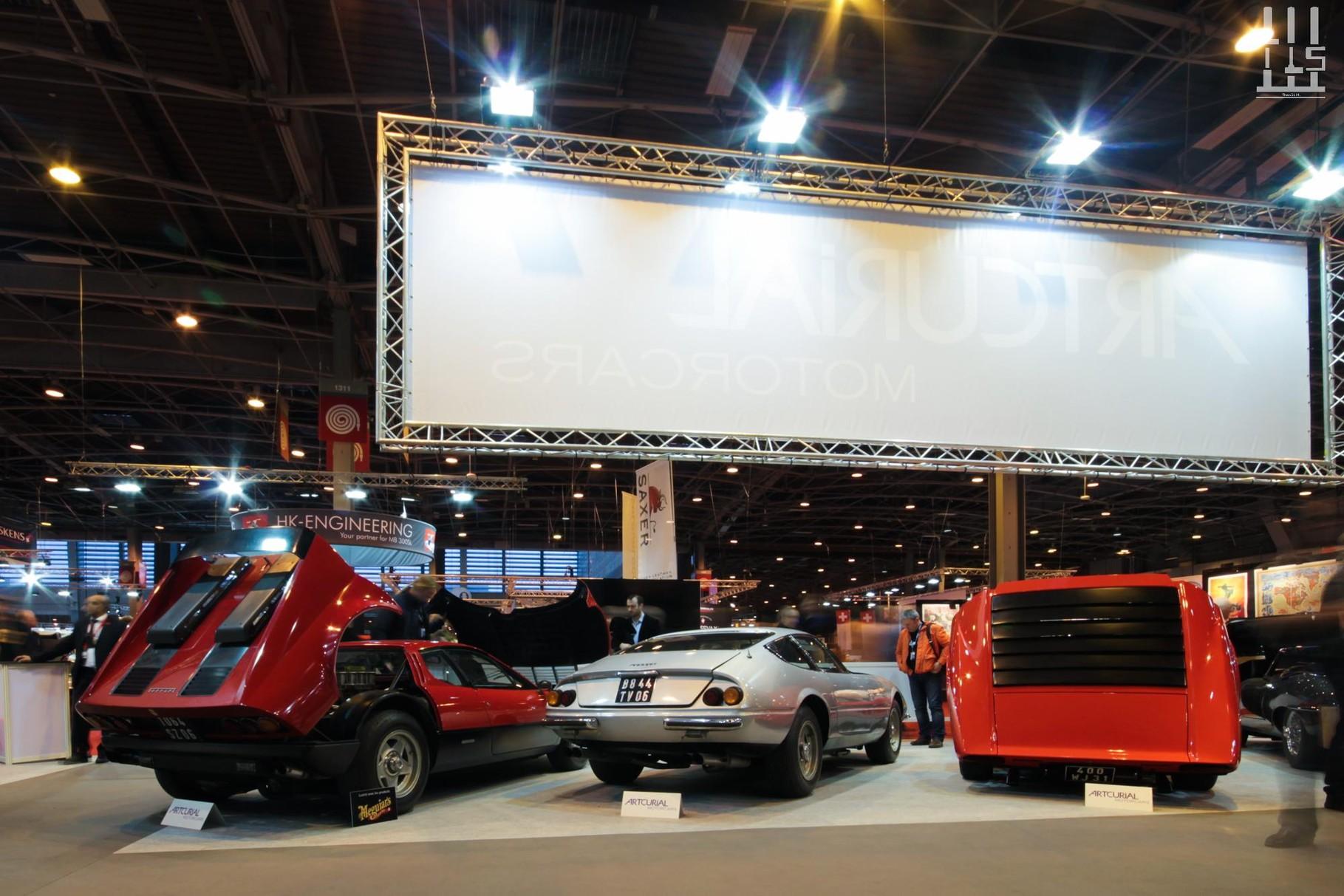 Ferrari 365 GT4 BB, Ferrari 365 GTB/4 Daytona, Lamborghini Miura