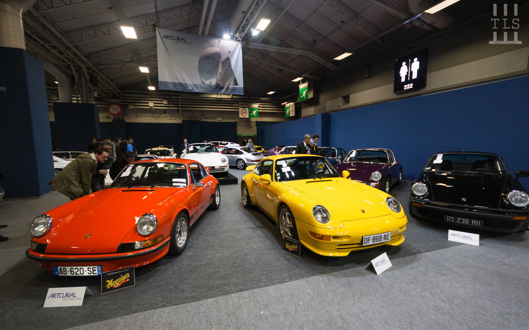 Porsche 911 2.7L Carrera RS et Porsche 993 Carrera RS,