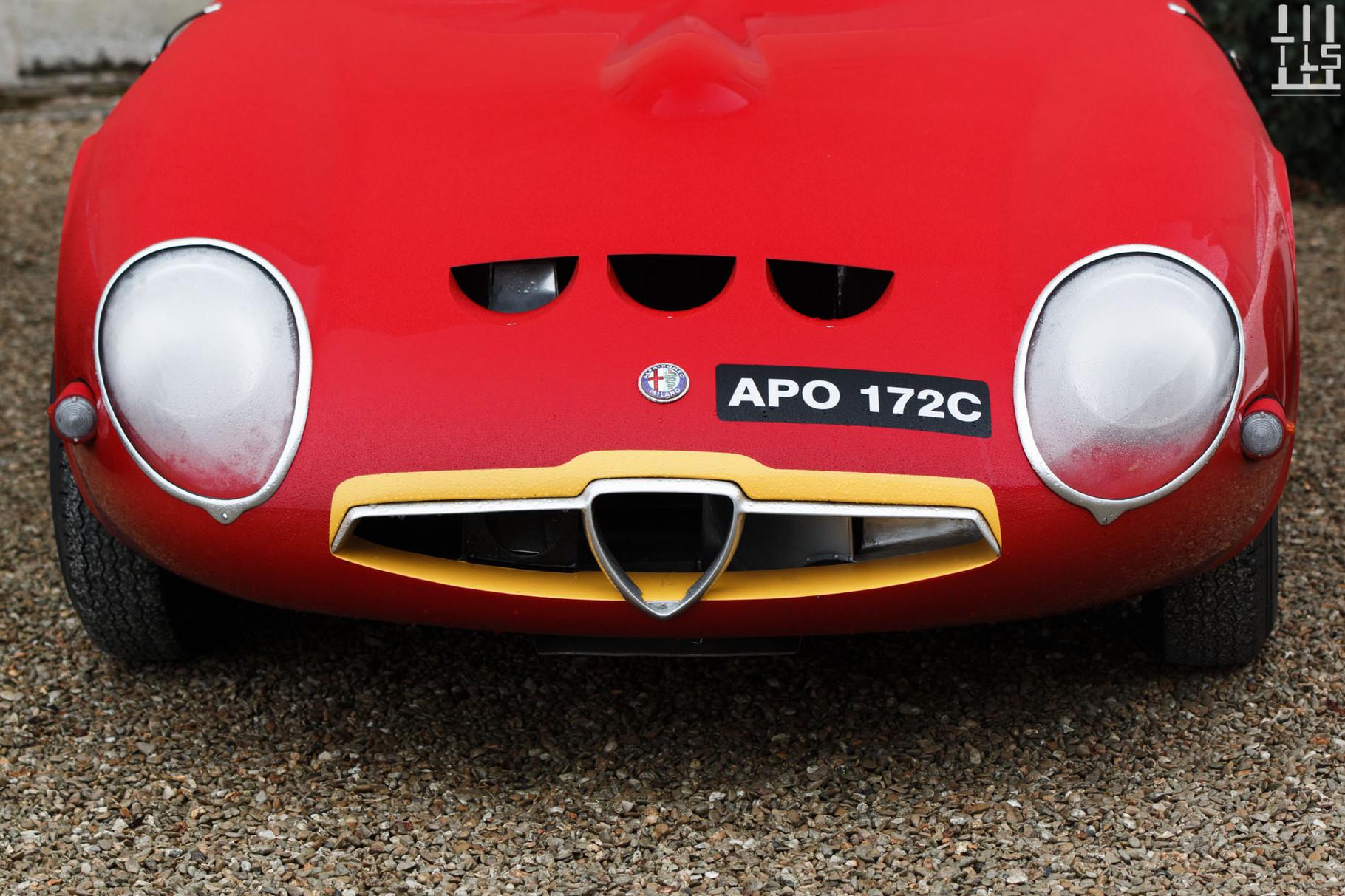 Alfa Romeo TZ - Journées d'Automne 2015, Château de Condé.