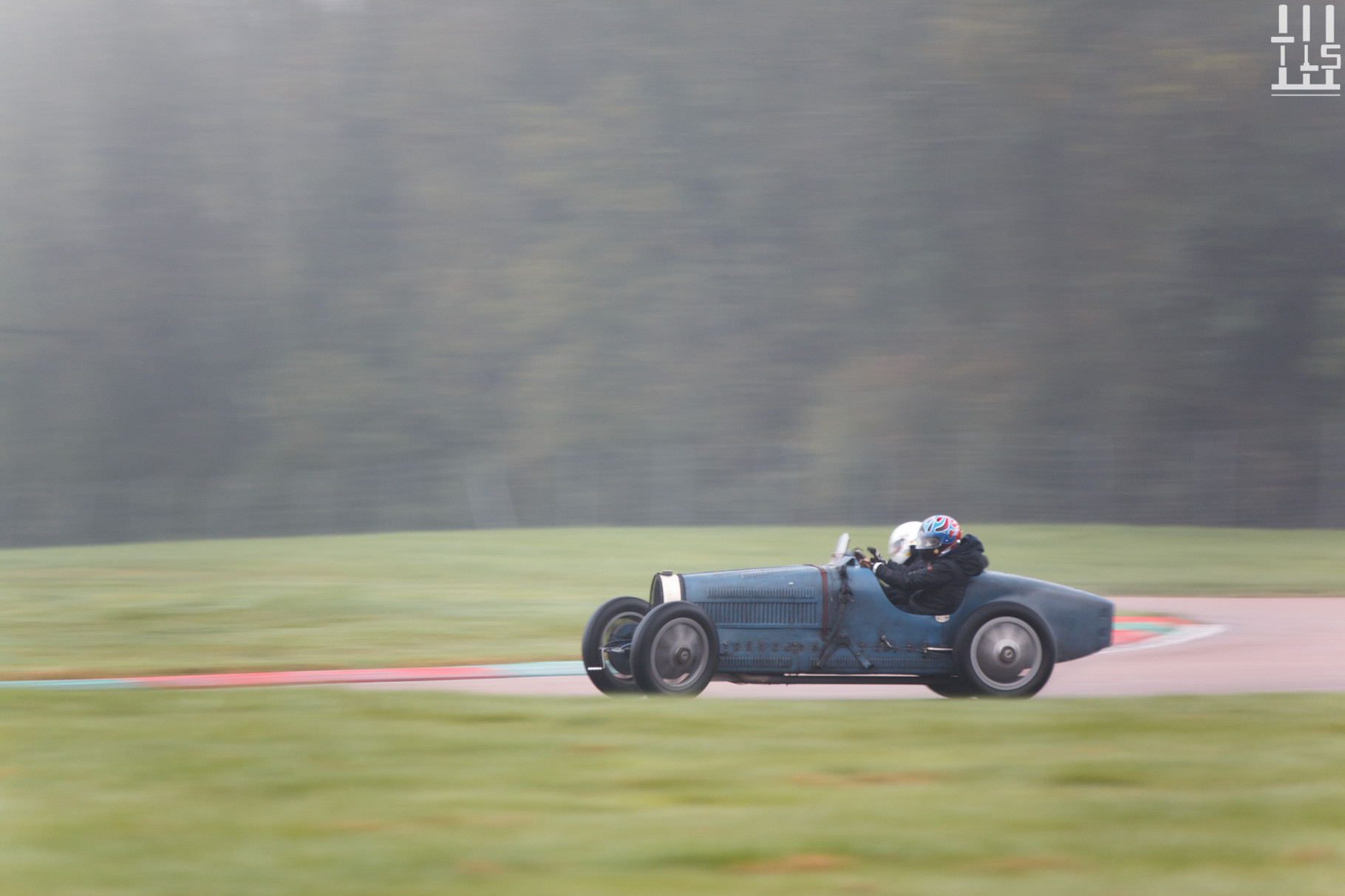 Bugatti Type 35 - Journées d'Automne 2015, Circuit des Ecuyers.