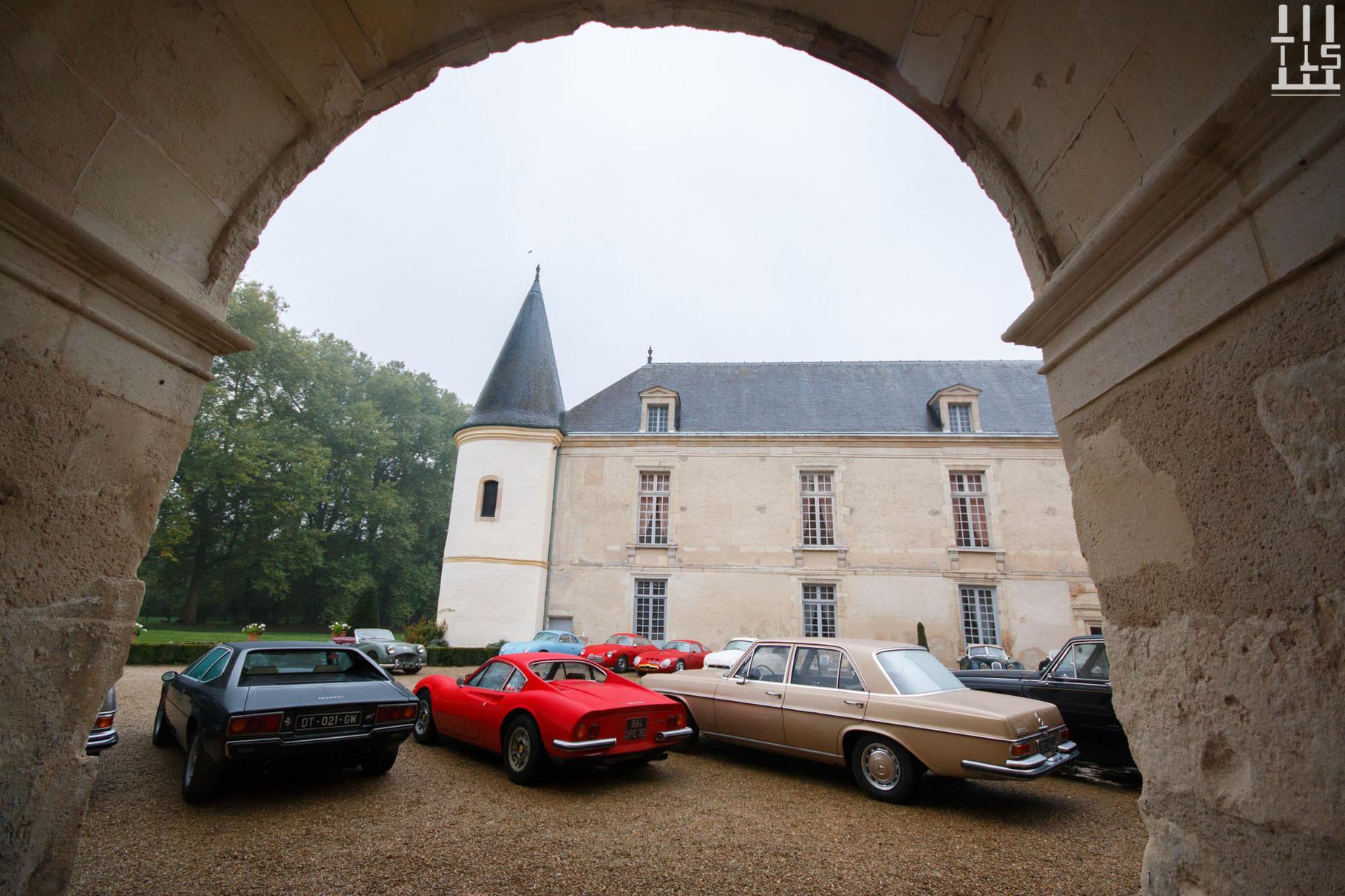 Dino 246 GT - Journées d'Automne 2015, Château de Condé.