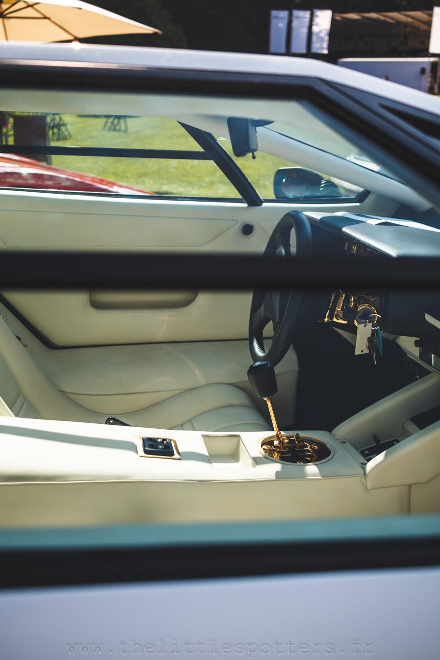 Lamborghini Countach 5000 QV, estimée entre 475 000 et 575 000 euros. Elle ne trouvera pas preneur.