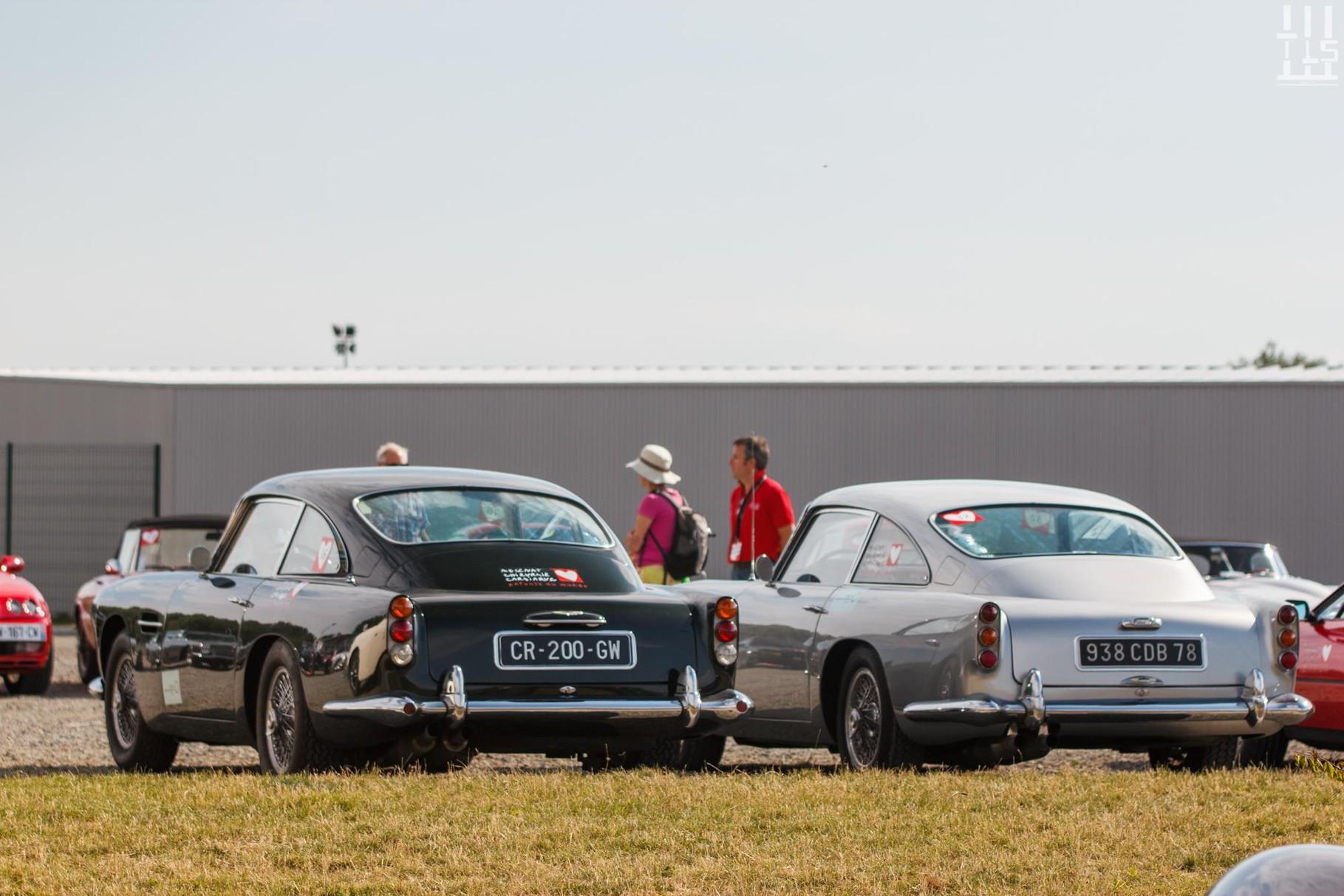 Aston Martin DB4 & Aston Martin DB5