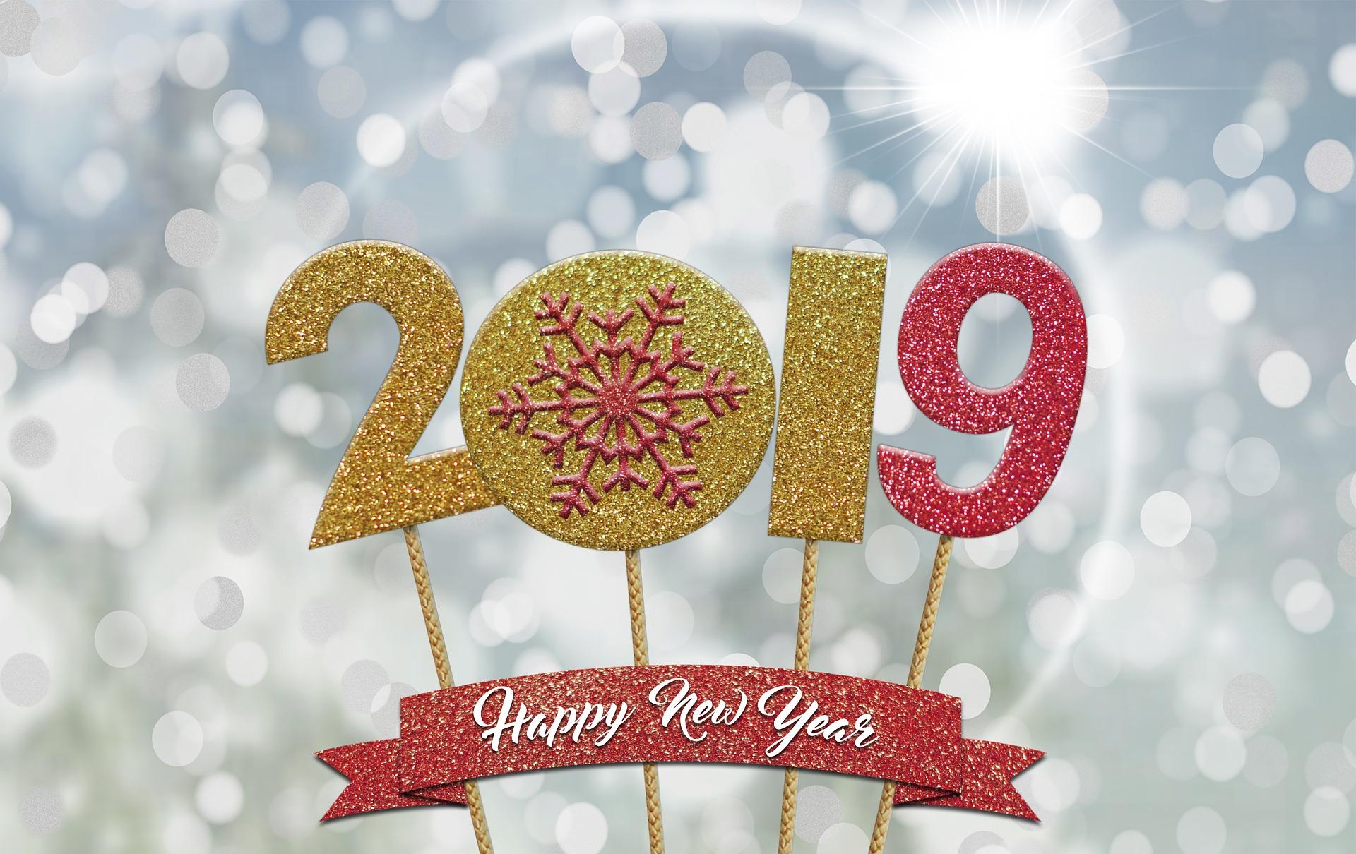 Pour 2019, nous vous souhaitons le meilleur!