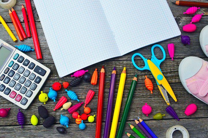 Listes des fournitures scolaires pour la rentrée 2019