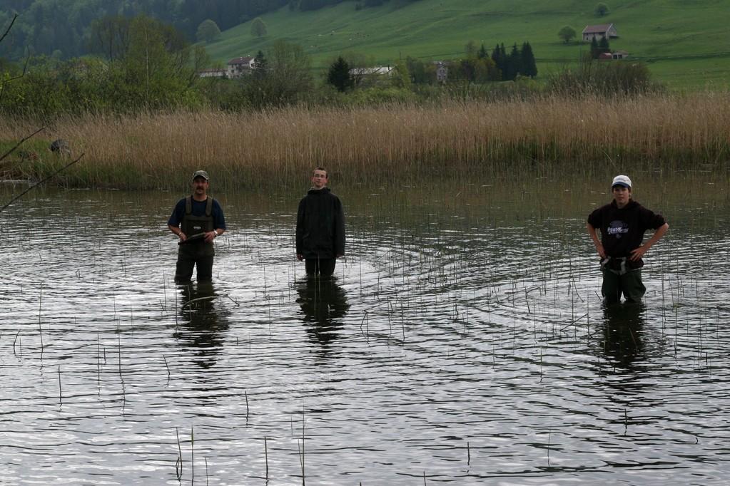 24 mai - Nettoyage du Lac des Rousses - bis