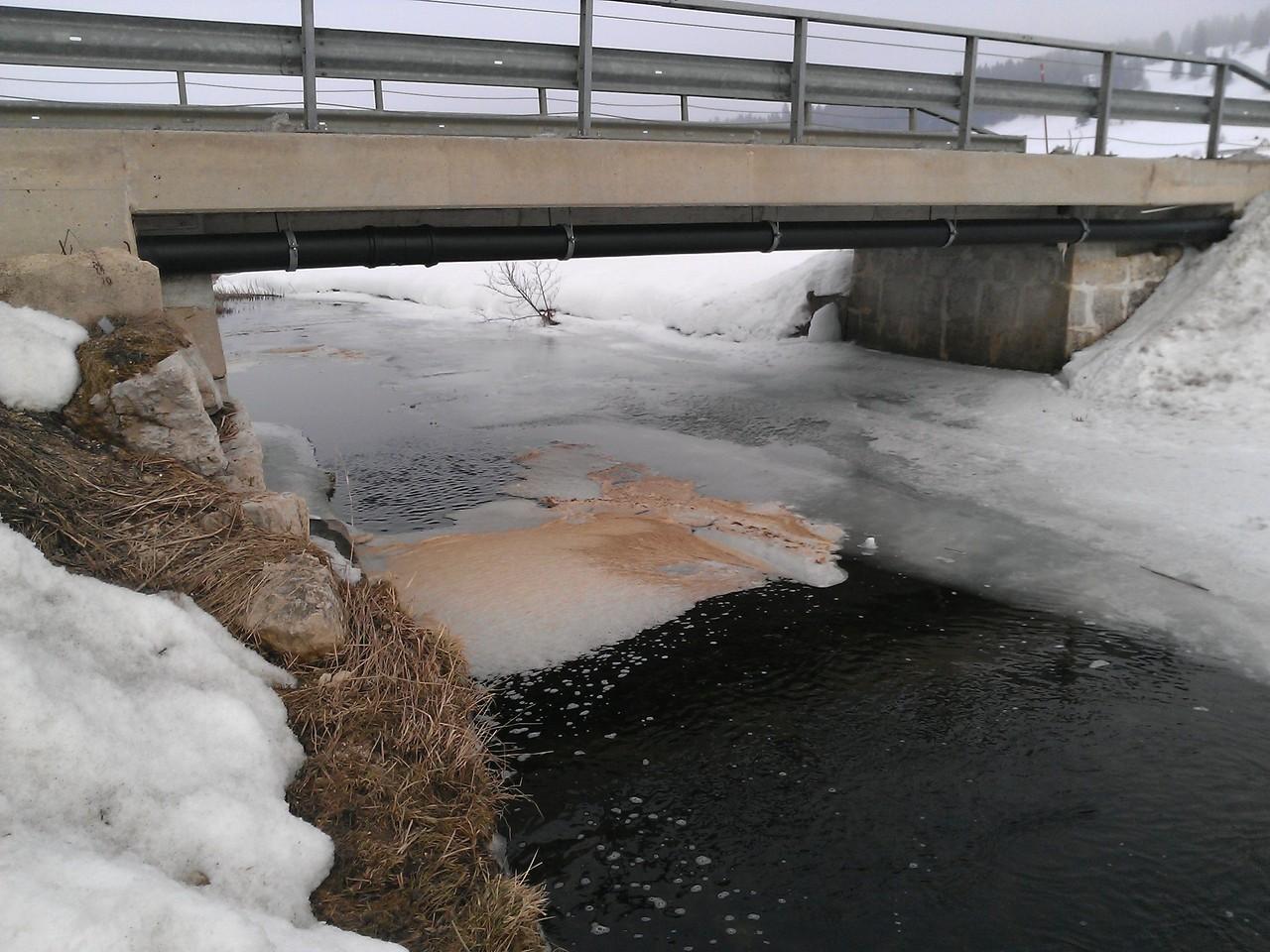 Côté cours - La pollution du 2 mars au Bas-du-Chenit