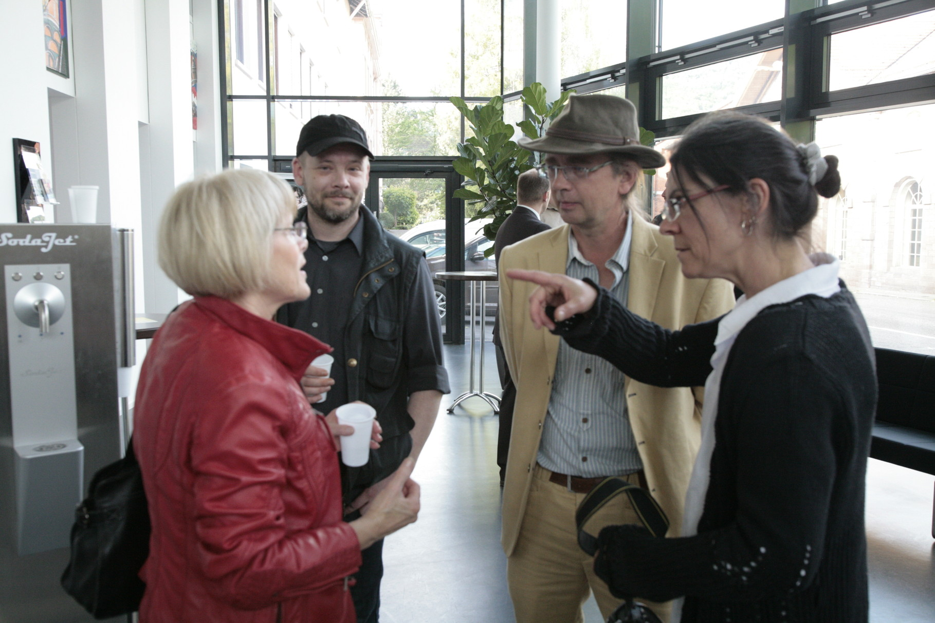 Impressionen der Vernissage am 08.05.2014