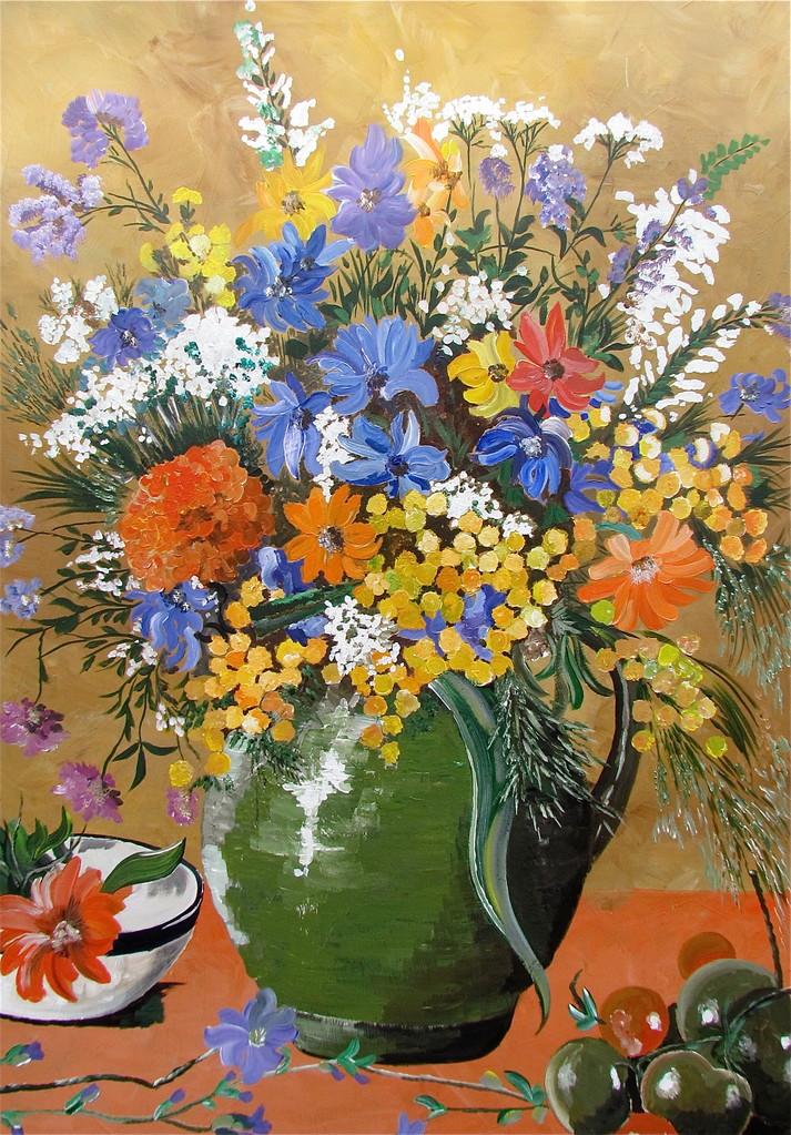 Blumen - 70 x 100 cm