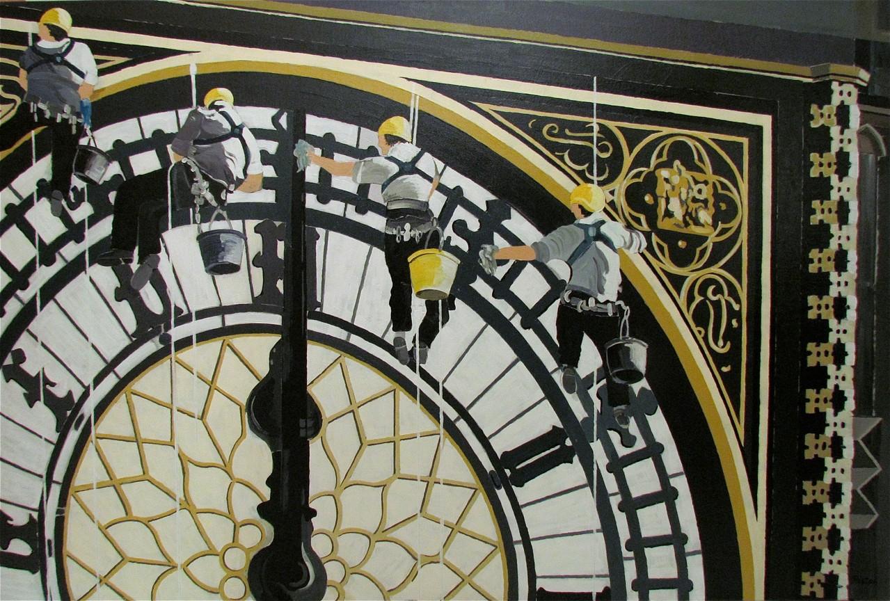 Big Ben - 80 x 120 cm
