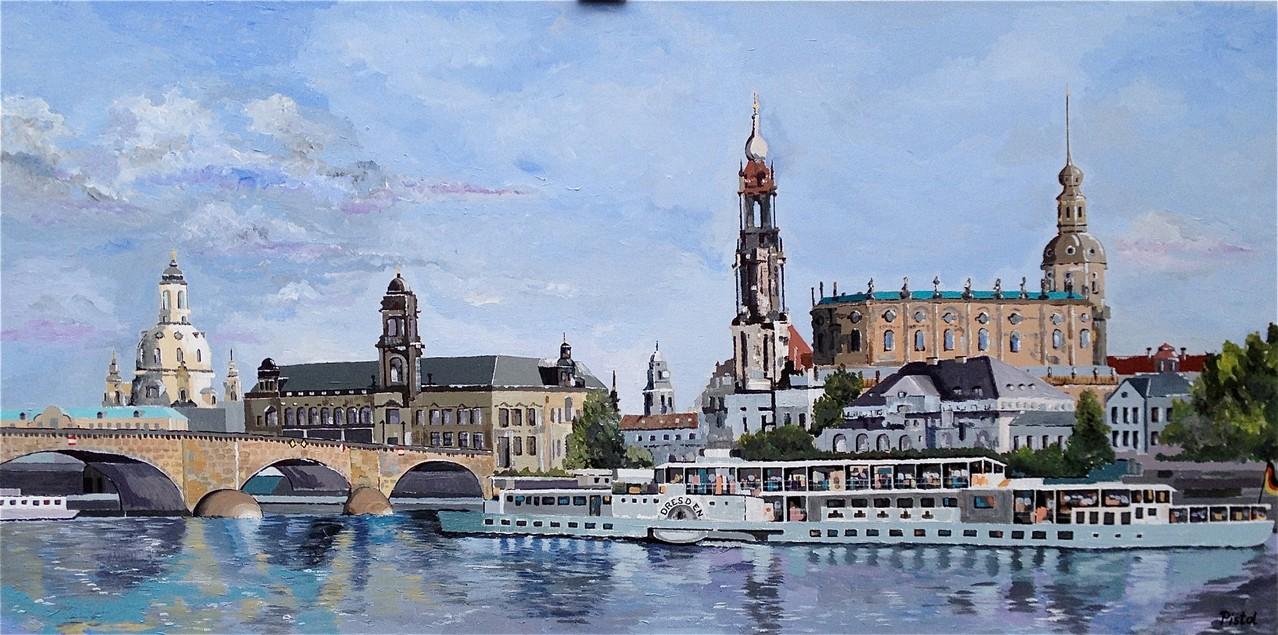 Dresden - 140 x 70 cm