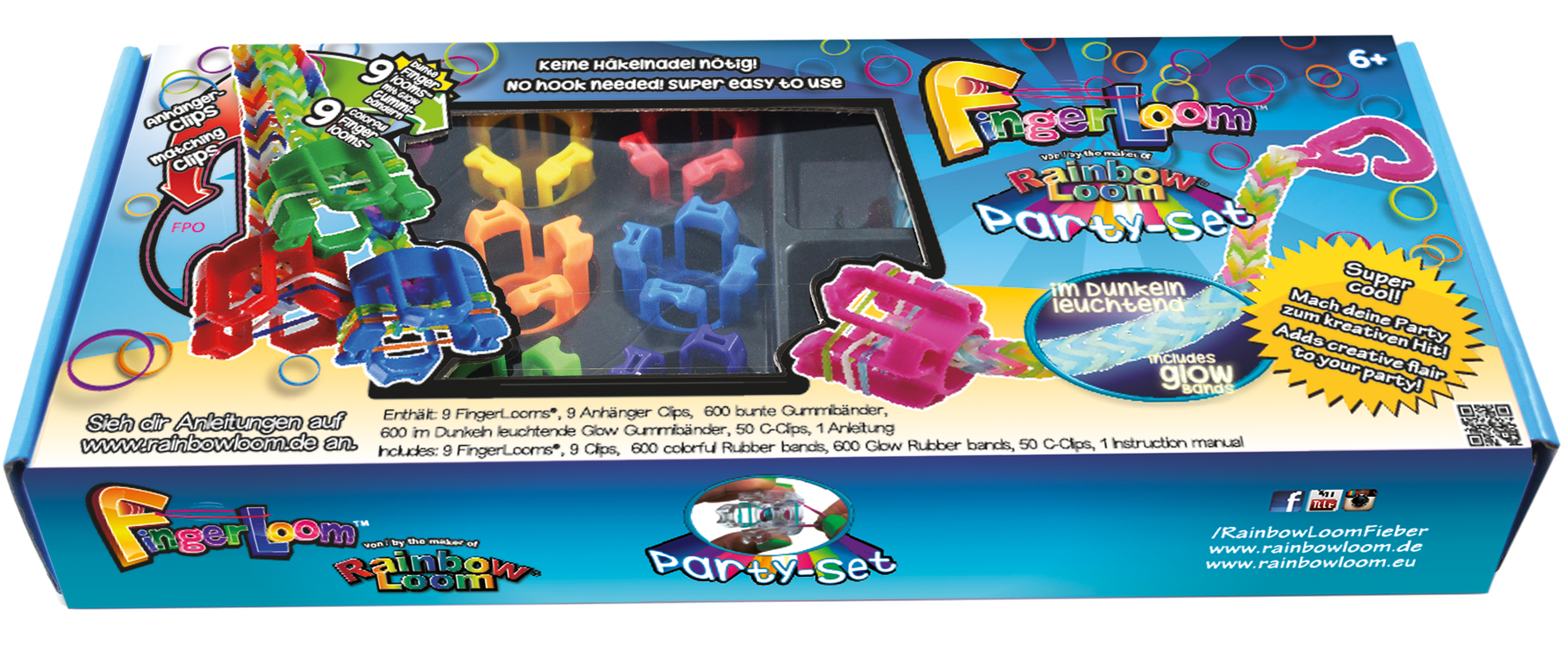 FingerLoom™ Party Set - yeah!