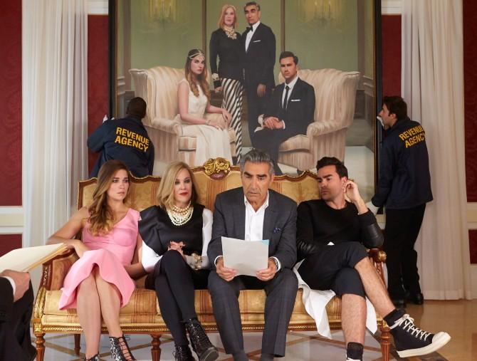La serie tv Schitt's Creek in esclusiva su Mediaset Infinity