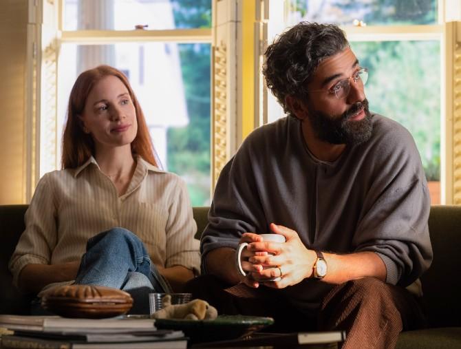 Oscar Isaac e Jessica Chastain sono protagonisti di Scene da un matrimonio
