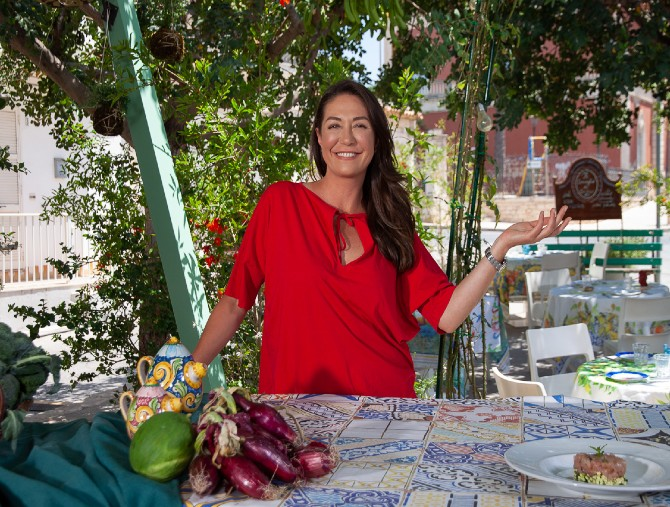 Tessa Gelisio in Sicilia con Cotto e Mangiato – Il menù