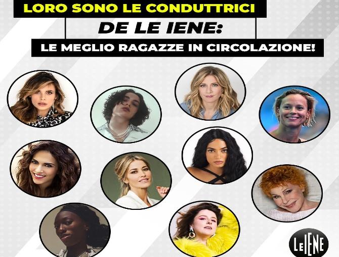 Dieci donne per Le Iene