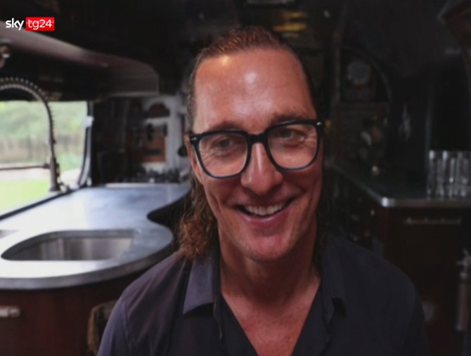 Stories: Matthew McConaughey - One Man Show, Sky Tg24
