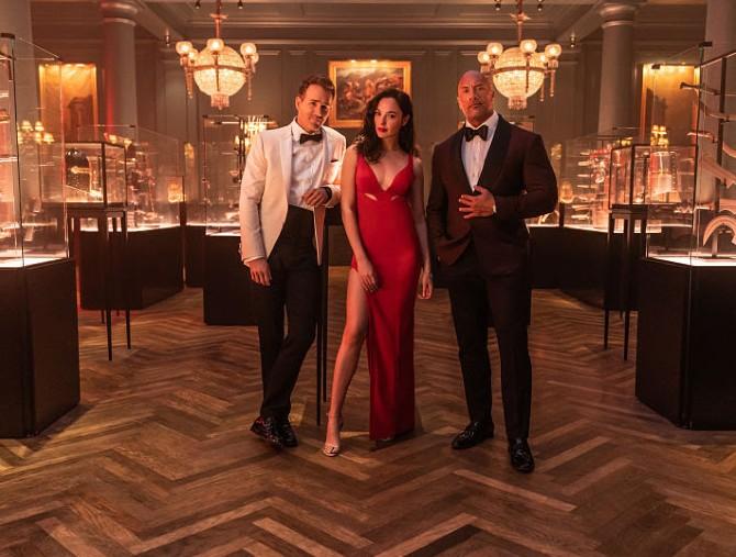 Il film Red Notice su Netflix il 12 novembre