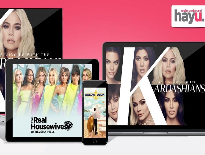 hayu, la piattaforma di reality show on-demand