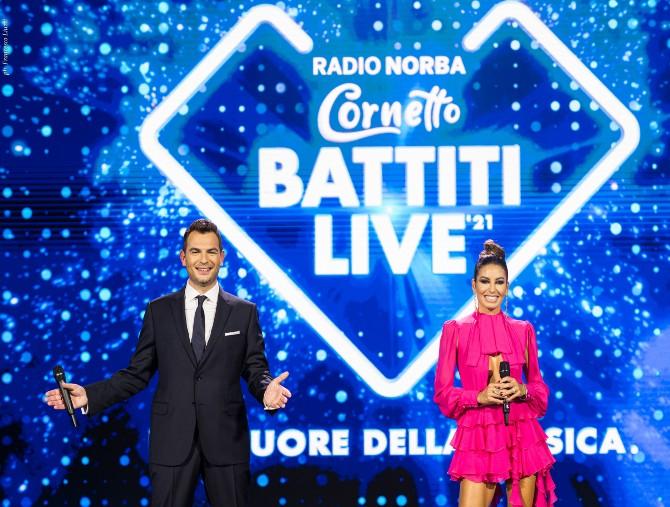 Torna su Italia 1 Radio Norba Cornetto Battiti Live