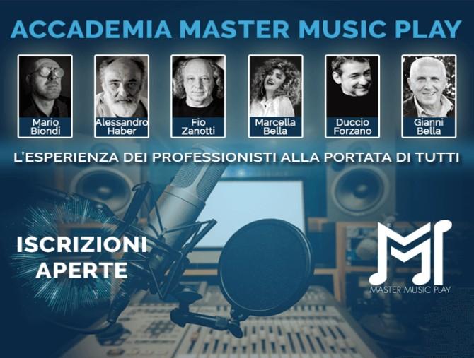 Accademia Master Music Play, aperte le iscrizioni
