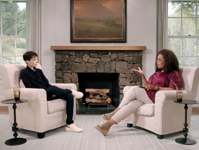 Elliot Page ospite di The Oprah Conversation, Apple TV +