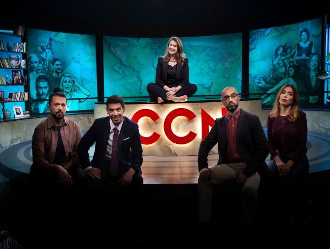 CCN - Comedy Central News: Michela Giraud intervista i Coma_Cose