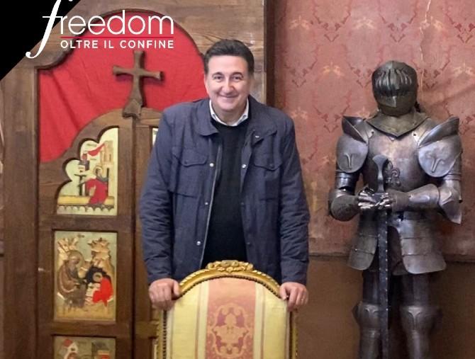 Nuova puntata di Freedom, tra castelli e grotte