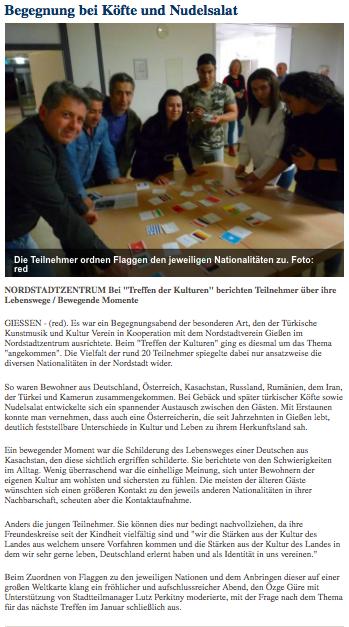 Gießener Allgemeine 15.11.2017