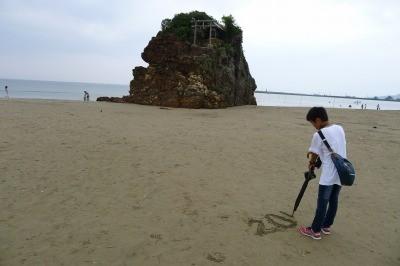 稲佐の浜に参上