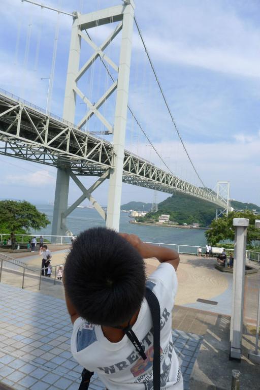 撮り橋中(やっぱり格好は同じになります)