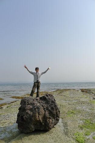 日本海にバンザーイ