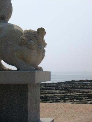 青島神社からの風景(坊主作品) 何かテーマがあるらしい・・・