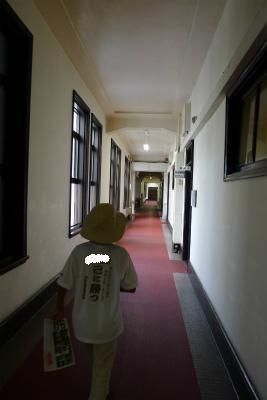 東国原知事も歩いた廊下・・・