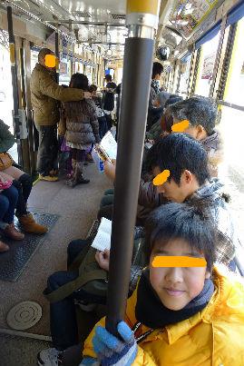 長崎のチンチン電車に・・・味がありますね