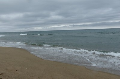 日本海・・・やっぱり海はいいっ。