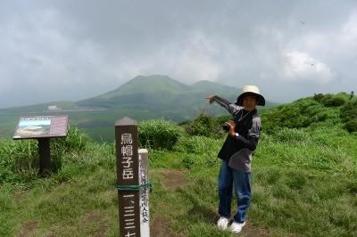 今度はあの山へ登山ですね。