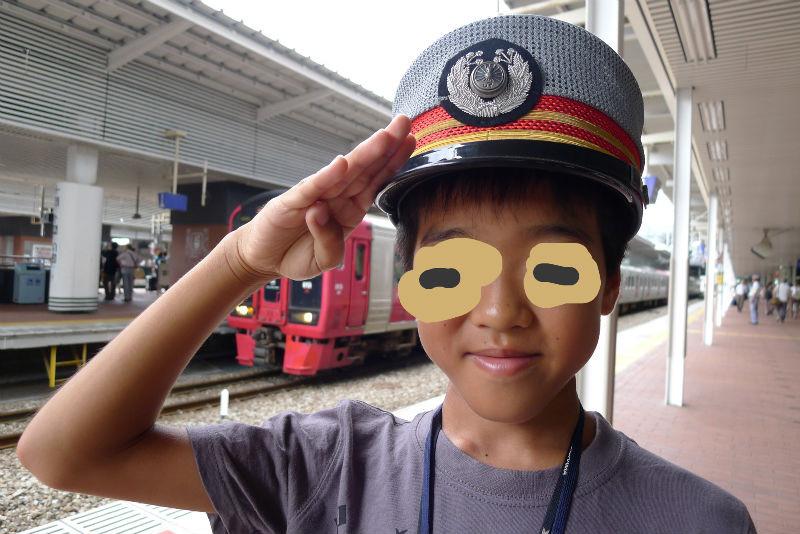 未来の鉄道マン????