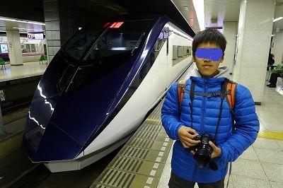 上野から成田は高級高額列車を選択した坊主