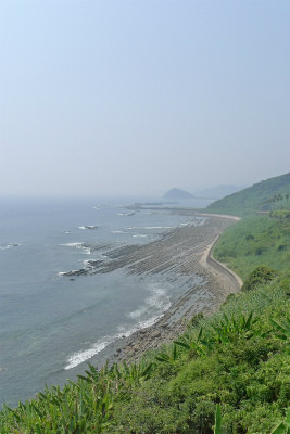 海岸線もきれいでした