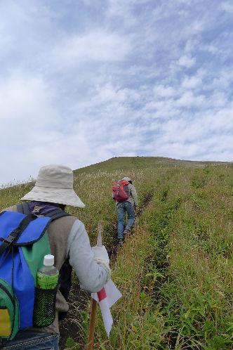 一目山へいちもくさんに登山開始