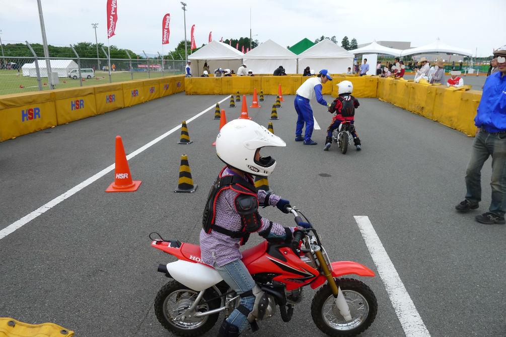オートバイ生まれて初めての運転