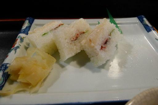 フグの寿司