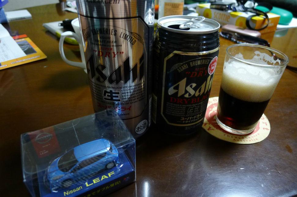 父は帰還後、本物ビール2本で〆・・・体力の限界です。