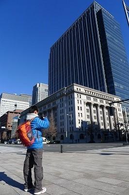 歴史的建築物と近代建築物の融合