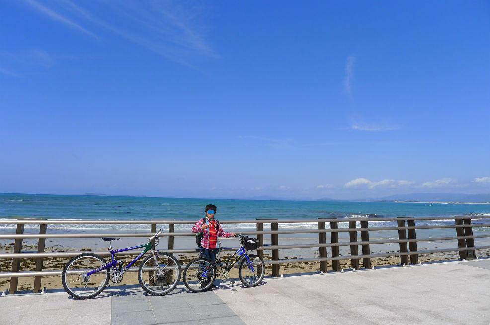 海と空の色、最高の天気です