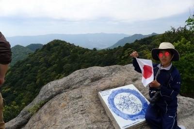 山頂にも、さすが佐賀、有田焼の案内