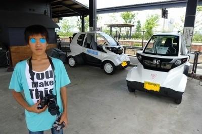 目的はこの電気自動車でしたが予約で一杯‼今度の楽しみに。